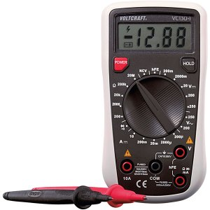 Voltcraft VC130-1 (ISO) Digital-Multimeter ISO Calibration