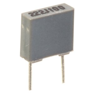 0.47uF 5% 100V 5mm Pitch Faratronic Polyester Film Capacitor