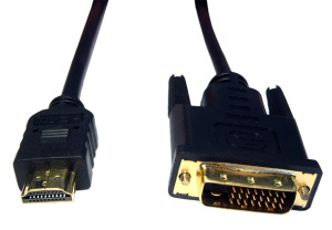 2m HDMI To DVI-D Cable