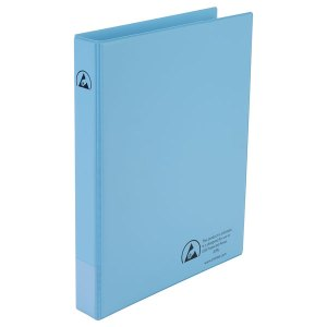 Antistat 105-0020 A4 Antistatic ESD Ring Binder 2 x 25mm Rings