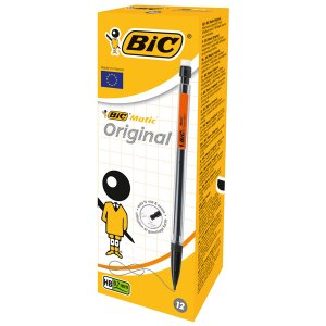 BiC Matic Original Mechanical Pencil 0.7mm Pack of 12