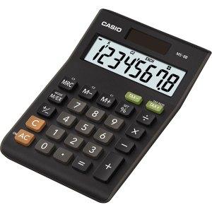 Casio MS-8B 8 Digit Calculator - Tax calculation