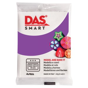 DAS 321013 Smart Oven-Bake Clay 57g (2x 28.5g) Purple