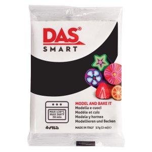 DAS 321030 Smart Oven-Bake Clay 57g (2x 28.5g) Black