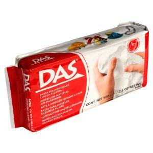 DAS 387000 Air Drying Modelling Clay 500g White