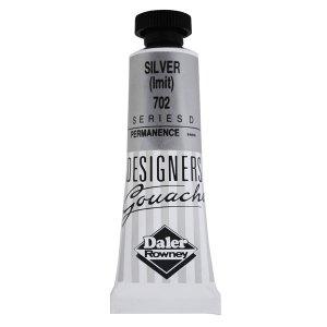 Daler-Rowney 136005702 Designers' Gouache Paint 15ml Silver (Imit)