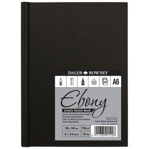 Daler-Rowney Ebony HB Sketch Book A6 Portrait 150G 62Sh