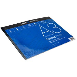Daler Rowney Tracing Paper Pad A3 60gsm (50 Sheets)