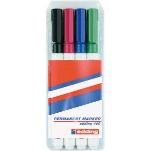 Edding 04BLK400-4999 Permanent Marker Set 400