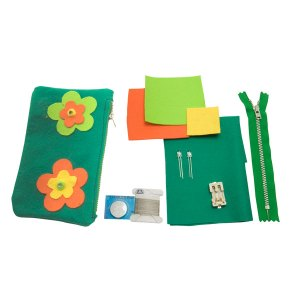 Light Stitches Flower LED Pencil Case Kit