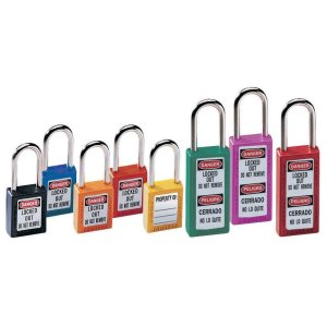 Master Lock 411 76mm Zenex Safety Lockout Padlock - Black