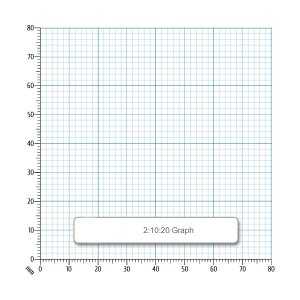 Rapid A4 Graph Paper 2:10:20mm Squared Punched 90gsm 500 Sheets
