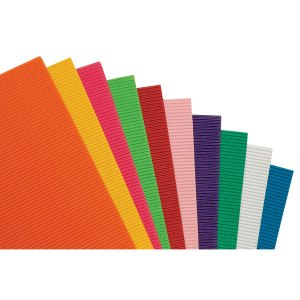 Rapid Corrugated Paper Bright - Pack of 10