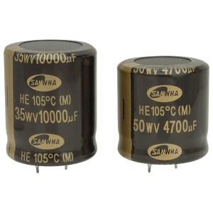Samwha HE1K688M40040HA 6800uf 80V 105deg He Snap-in Capacitor