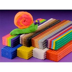 Scola 10103/20/A Colour Clay (Plasticine) 10Kg - 20 Assorted - 18 ...