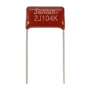 Suntan TS02002J104KSB0E0R 0.1uf 630V 10% Metal. Poly Capacitor