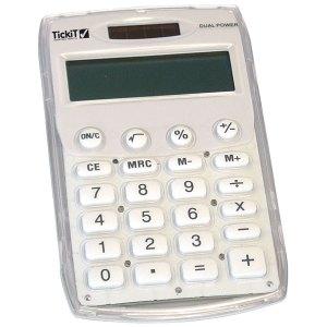 TickiT Student Calculator - White