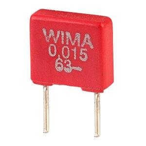 Wima MKS2C021501A00KS MKS2 0.015uF ±10% 63V Radial Polyester Capacitor