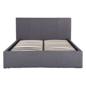Ascot King Size Ottoman Bed Grey