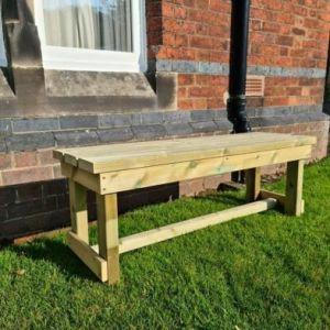 Croft Butchers 2 Seat Bench