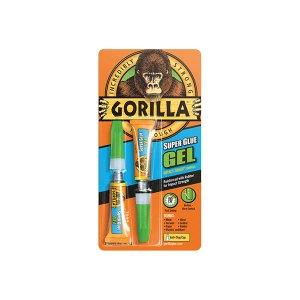 Gorilla Glue 4044601 Gorilla Superglue Gel 3g (Twin Pack)