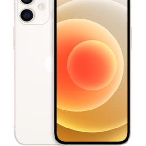 Apple iPhone 12 Mini 5G (64GB White) at £9 on Pay Monthly 100GB + 2 Xtra Benefits + Entertainment (36 Month contract) with Unlimited mins & texts; 100GB of 5G data. £49 a month.