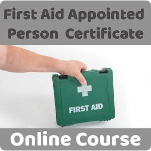 First Aid Appointed Person Certificate Training Course