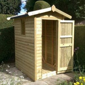 Garden Storage Shed 6x4 with Apex Roof