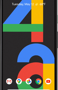 Google Pixel 4a (128GB Just Black) at £9 on Pay Monthly Unlimited Max + 2 Xtra Benefits (36 Month contract) with Unlimited mins & texts; Unlimited 5G data. £45 a month.