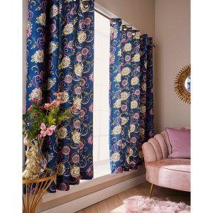 """Joe Browns Fabulous Floral Curtains - 66x72"""" - Fully Lined - Multi"""