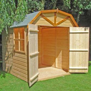 Shire Barn Shiplap Garden Shed 7' x 7'
