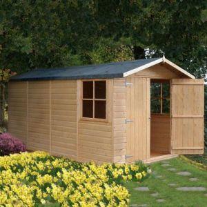 Shire Jersey Shiplap Garden Shed 7' x 13'