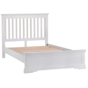 Swafield Single Bed White & Pine