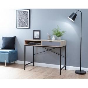 Telford Kight 1 Drawer Desk Kight Oak Styled