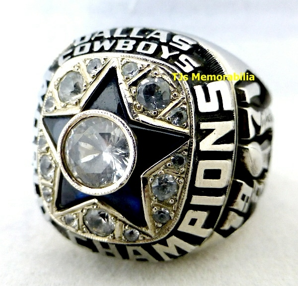 1971 DALLAS COWBOYS SUPER BOWL VI CHAMPIONSHIP RING