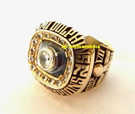 1972 MIAMI DOLPHINS SUPER BOWL VII CHAMPIONSHIP RING