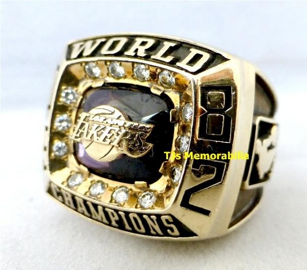 1982 LOS ANGELES LAKERS NBA CHAMPIONSHIP RING