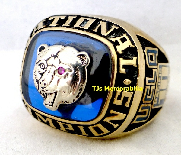 1988 UCLA BRUINS TRACK N FIELD NATIONAL CHAMPIONSHIP RING