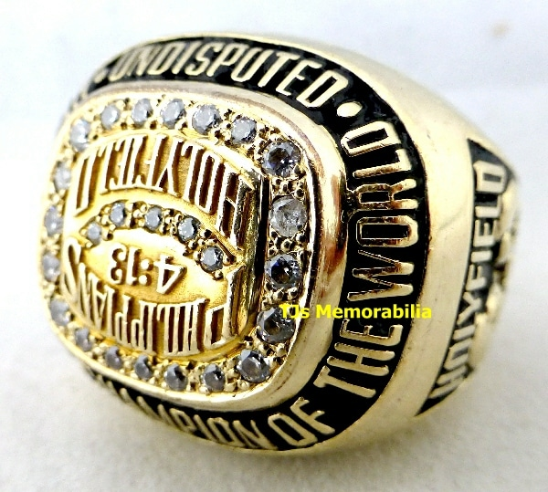 1990 EVANDER HOLYFIELD UNDISPUTED WORLD HEAVYWEIGHT CHAMPIONSHIP RING-1
