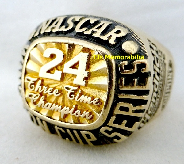 1998 WINSTON CUP CHAMPIONSHIP RING – 3 in a Row !