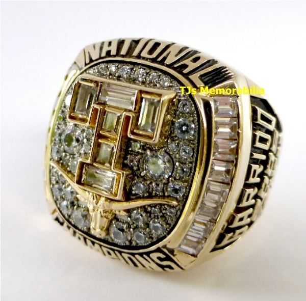 2005 TEXAS LONGHORNS WORLD SERIES NATIONAL CHAMPIONSHIP RING