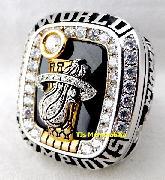 2012 MIAMI HEAT NBA CHAMPIONSHIP RING STAFFER