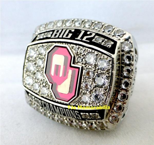 2012 OKLAHOMA SOONERS BIG 12 TWELVE CHAMPIONSHIP RING