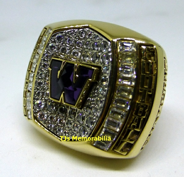 2015 WASHINGTON HUSKIES HEART OF DALLAS BOWL RING