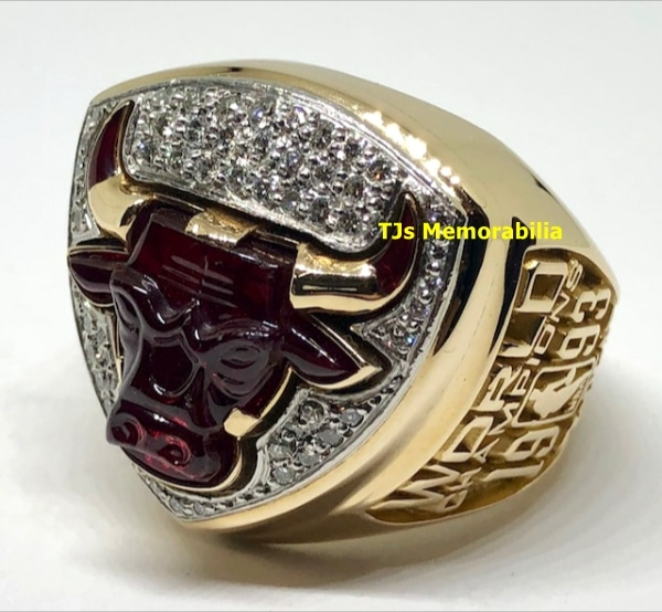 1993 CHICAGO BULLS NBA WORLD CHAMPIONS CHAMPIONSHIP RING