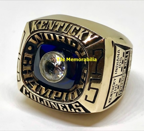 1975 KENTUCKY COLONELS ABA CHAMPIONSHIP RING