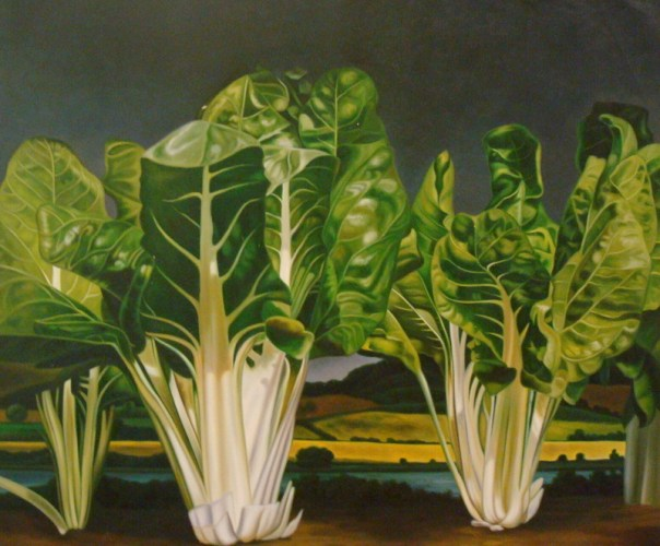 "Sharon Rawson ""All Chard Ahead"" 57972.3000   30 1/2"" x 24 1/2"""