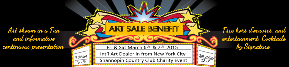 Art Sale Benefit