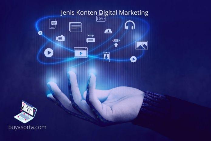 Jenis Konten Digital Marketing