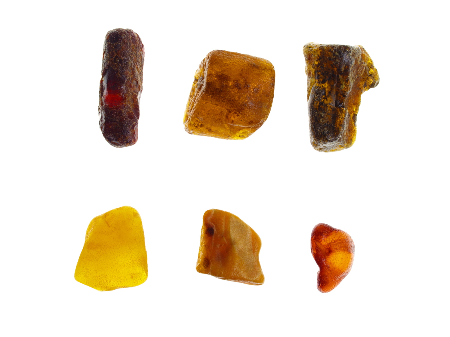 colors of amber
